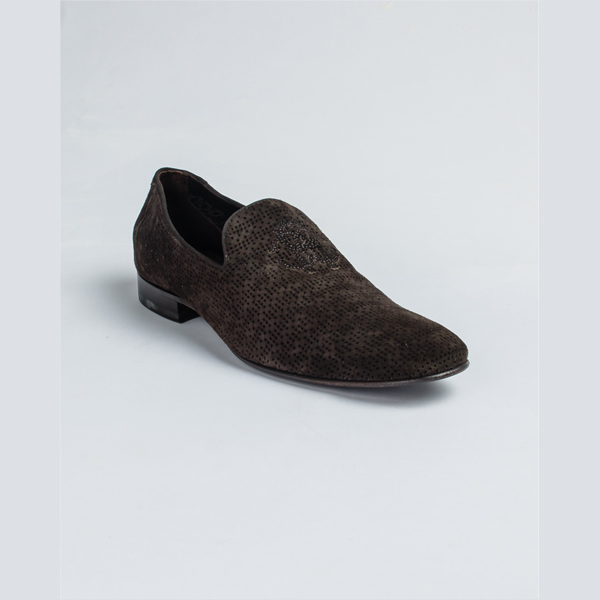 Cavalli brown suede loafers