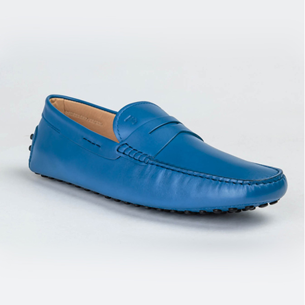 Tod's blue colored drivers