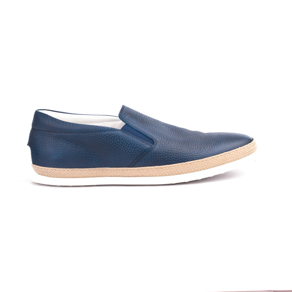 Blue Tod's Leather Slip-on