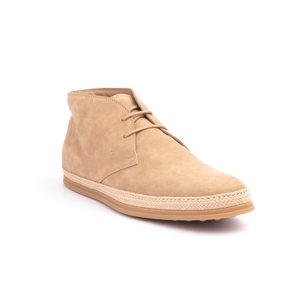 Tod's Brown Suede Chukka boot