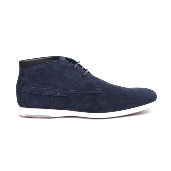 Blue Tod's Suede Chukka boot