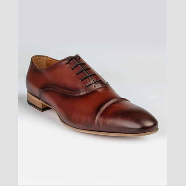 Doucals tan brown lace-up
