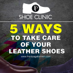 leather shoes care