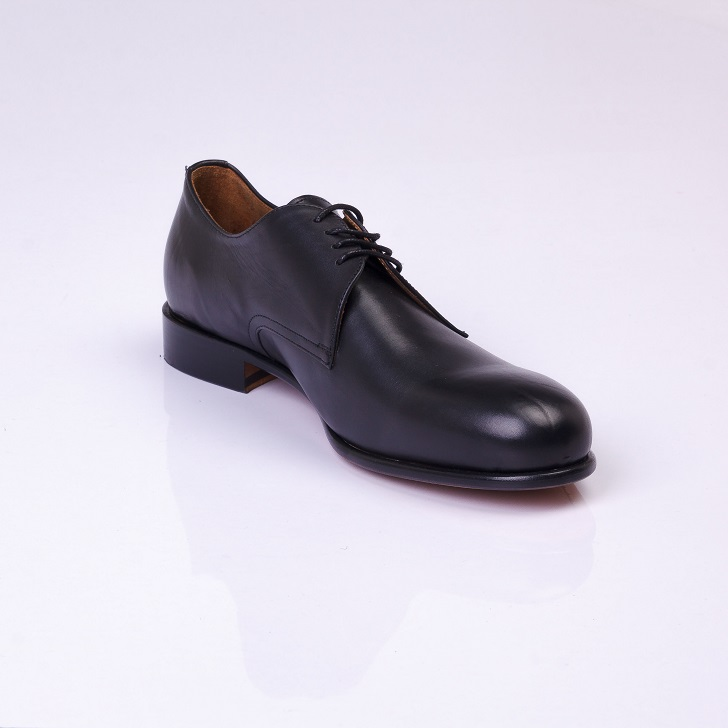 FPC Black Leather Oxford Lace-up 3
