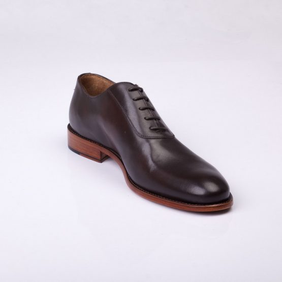 FPC Brown Leather Derby Lace-Up 2