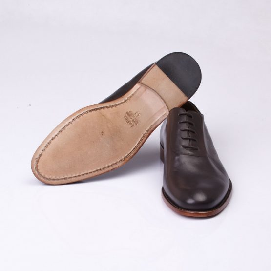 FPC Brown Leather Derby Lace-Up 1