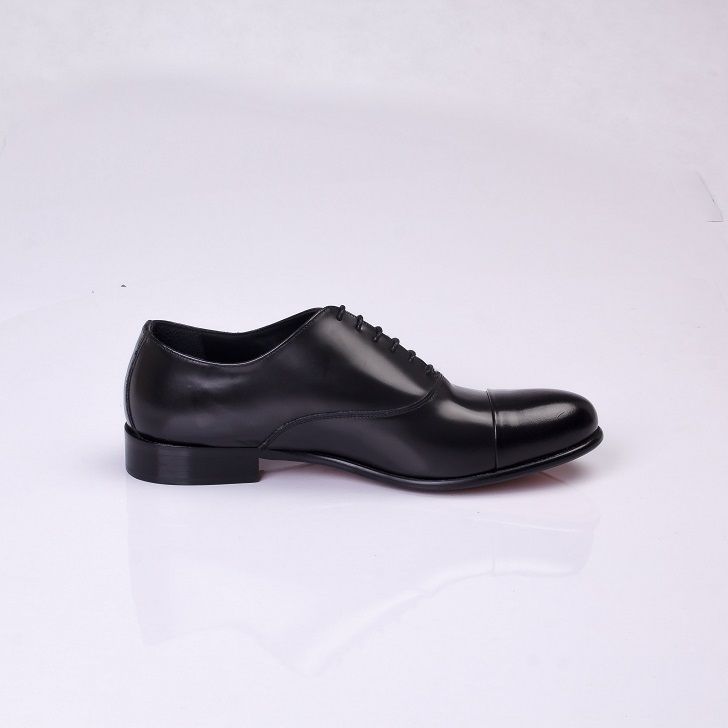 FPC Black Leather Derby Lace-Up 3
