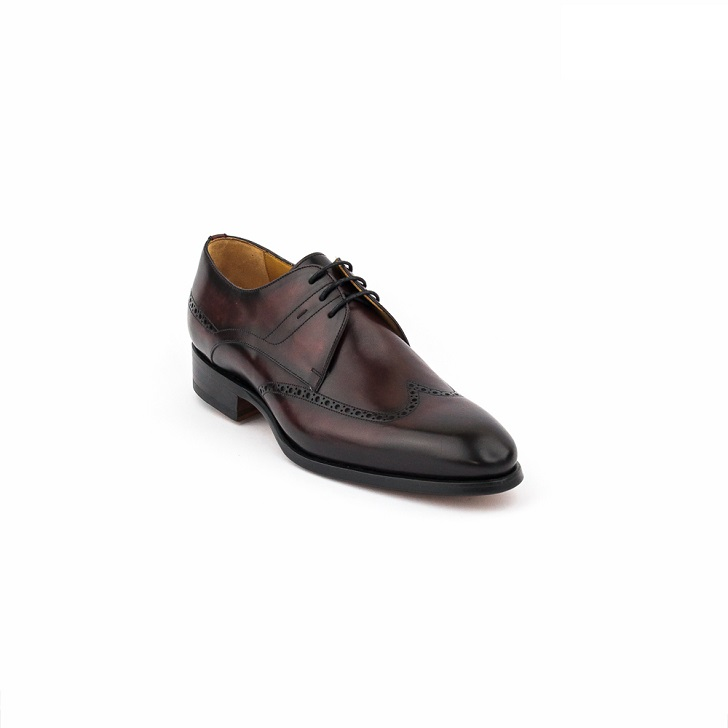 Magnanni Gris Derby Brogues Lace Up