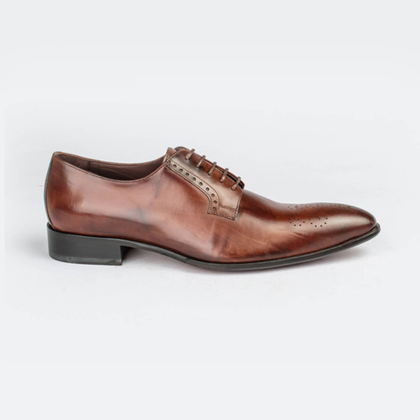 Profession bottier leather lace up