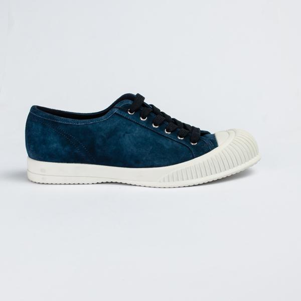 Prada blue suede Sneakers with mud guard