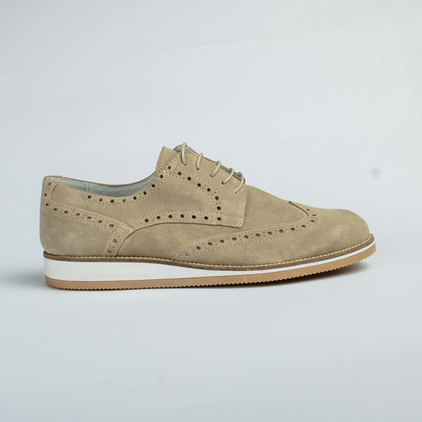 Vulcan Light brown lace-up Brogues shoe