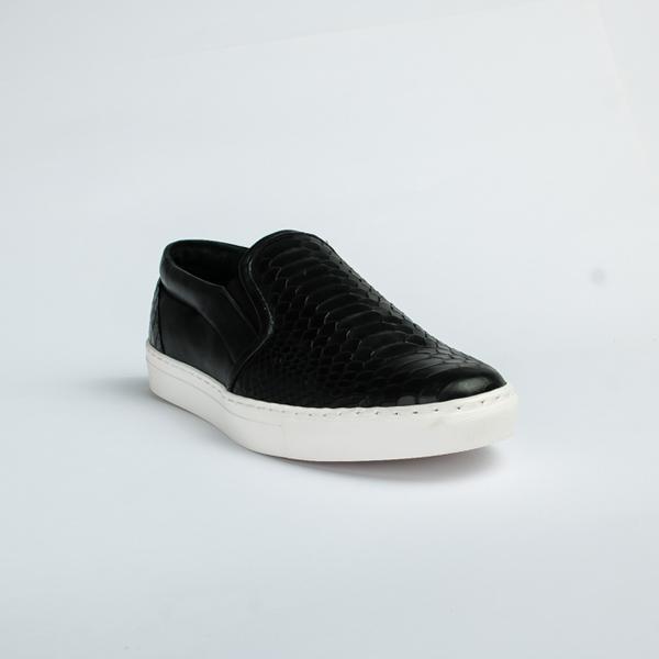 Vulcan black slip-on