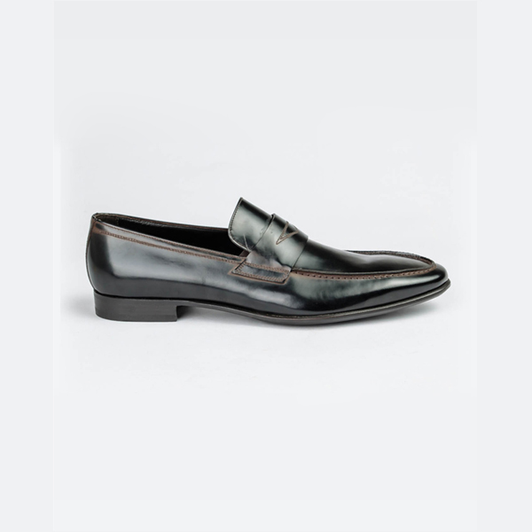 Doucals ox brown penny loafers