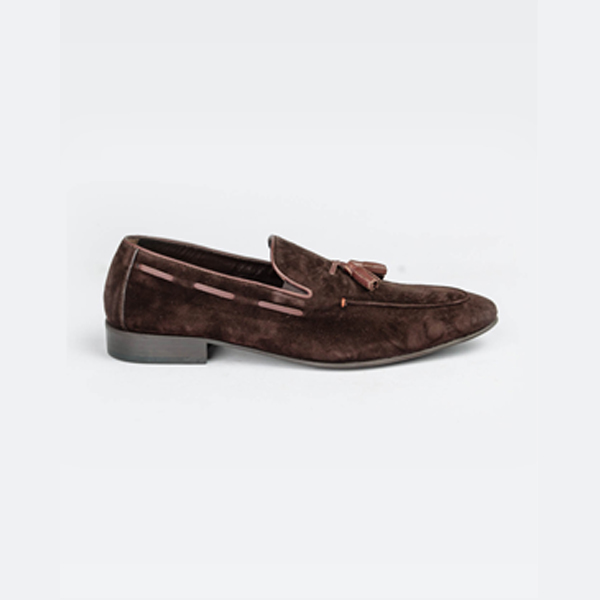 FPC brown suede moccasin