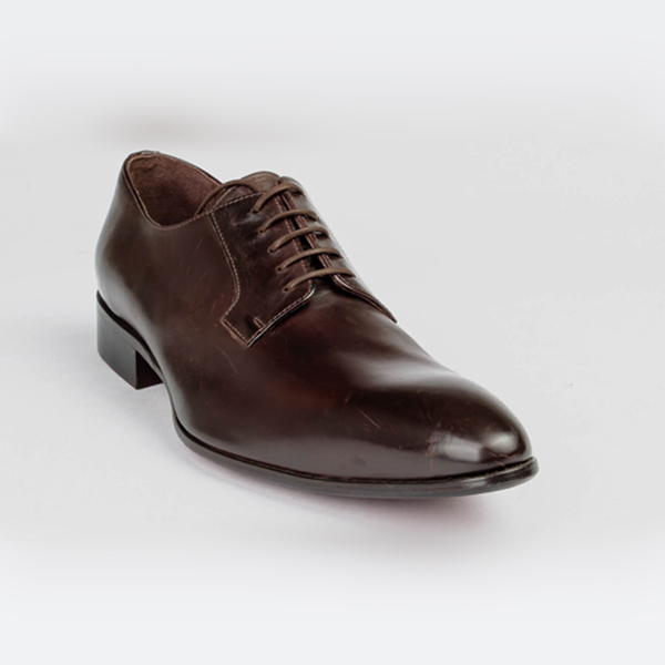 Profession Bottier Brown Derby Shoe