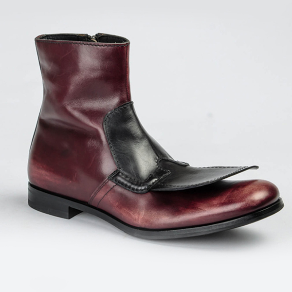 Prada oxen colour leather boot