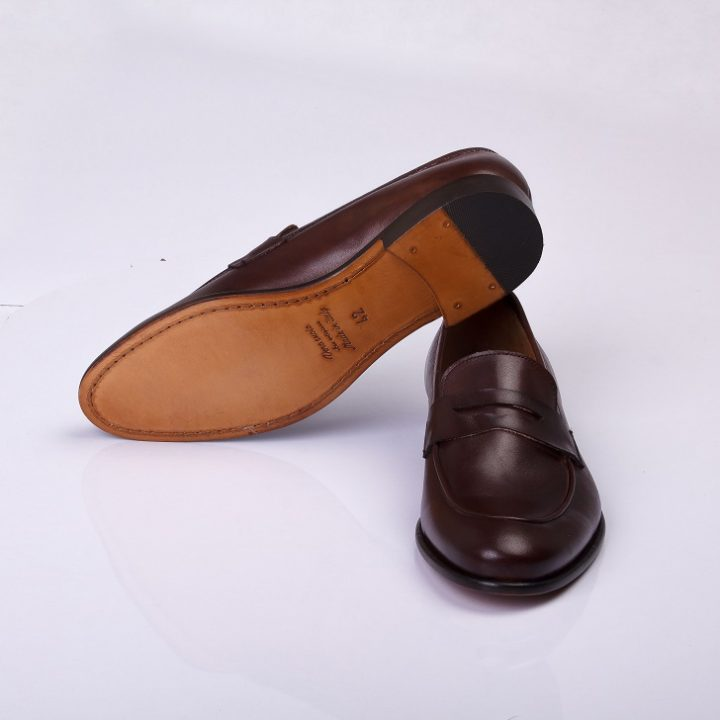 FPC Dark Brown Penny Loafers 1