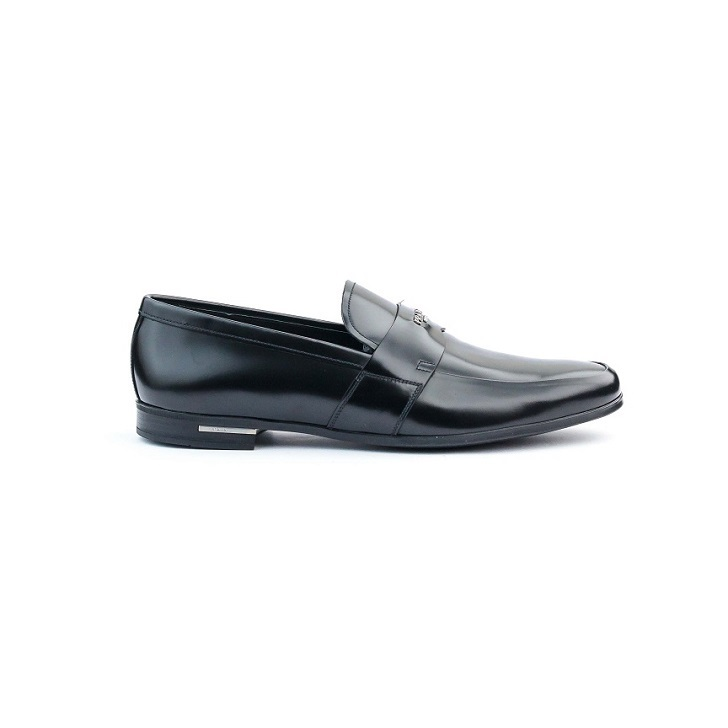 Prada Prada Vitello Leather Dress Loafer