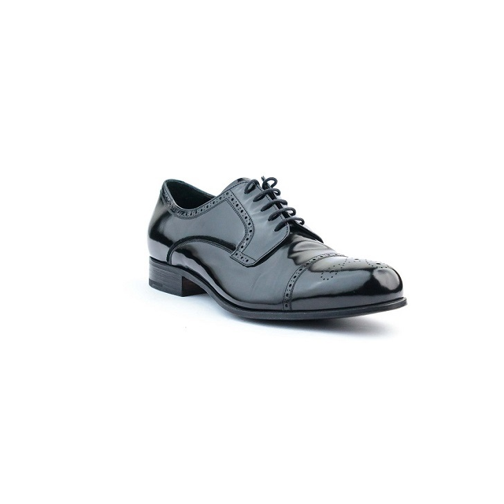 Prada Wet looks Patent Leather Brogue lace up