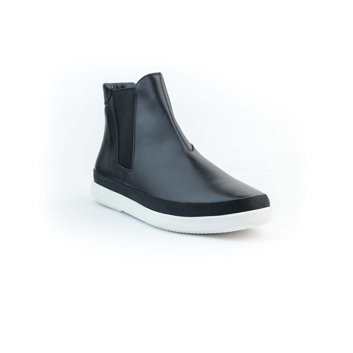 Prada Leather Chelsea Boot