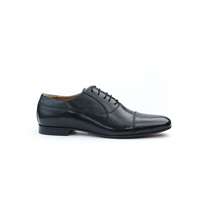 FPC Black Leather Lace Up