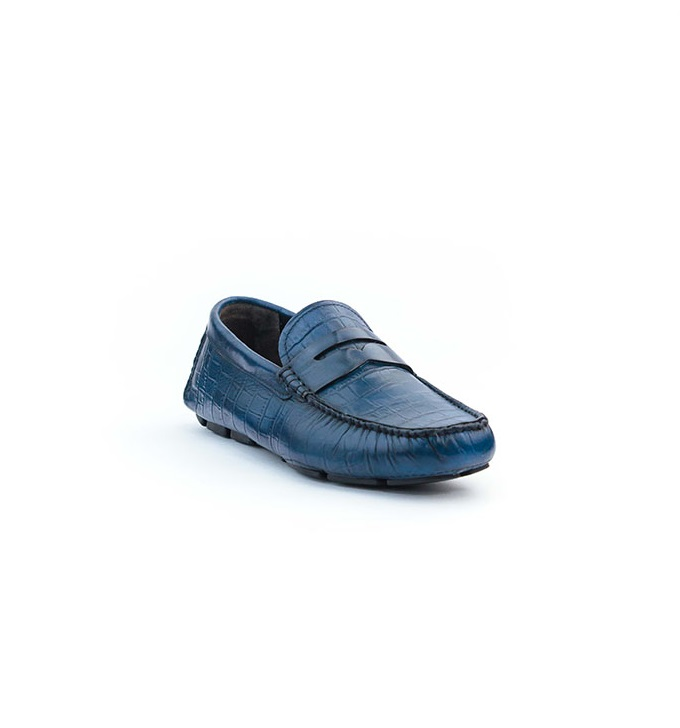 FPC Blue Leather Crocodile Drivers